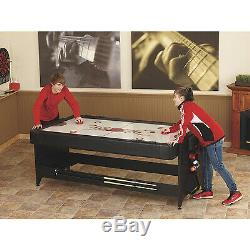 2-in-1 Game Table Pool/Billiard and Air Hockey