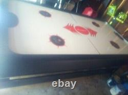 2 in 1 fatcat game table air hockey and pool needs pucks and balls