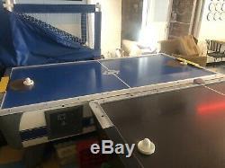 3 Arcades 2x Dynamo Air Hockey Tables Plus Treasure Chest Crane Unit