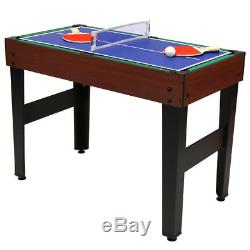 4-In-1 Multi Sports Table Pool, Football, Push Hockey & Table Tennis 1/2 price