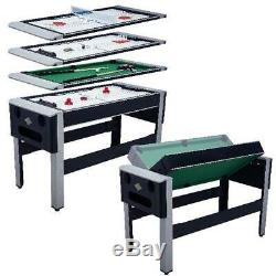 4 In 1 Table Billiards Pool Bowling Hockey Table Tennis Combo Arcade Game Table