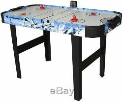 48 Air Hockey Game Table With Electronic Scorer for Kids and Adults