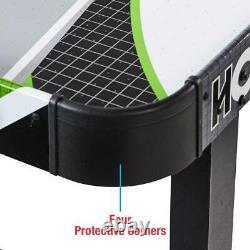 48 Air Powered Hockey Game Table LED Electronic Scorer Black & Green