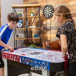 48 Mid-Size NHL Rush Indoor Hover Hockey Game Table Easy Setup, Air-Powered