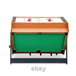 4FT 3 in 1 Multi-game Table Billiard Table/Soccer Table /Air Hockey Table For Sa