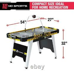 54 Air Powered Hockey Game Table Overhead Electronic Scorer Game Sports Kids