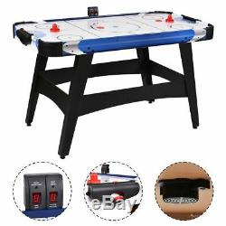 54 Air Powered Hockey Table Indoor Sports Game Room Electronic Scoring For Kids