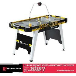 54 Inch Air Hockey Game Room Table Overhead Electronic Scorer Entertainment Fun