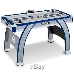 54 Inch Air Powered Hockey Table Game Play With LED Electronic Scorer Sturdy Leg