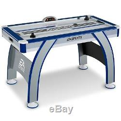 54 Inch Air Powered Hockey Table LED Electronic Scorer Friend Playing Games Play