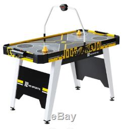 54 Inch Air Powered Hockey Table Overhead Electronic Scorer Game Sports Kids Fun