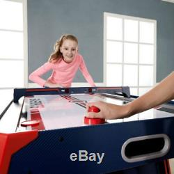 60 Inch Air Powered Hockey Table Overhead Electronic Scorer Arcade Game