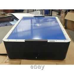 8' Dynamo Pro Style Air Hockey Table with Overhead Light Open Box