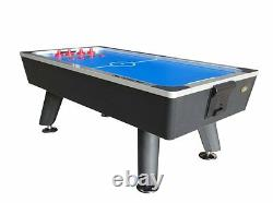 8 foot CLUB PRO AIR HOCKEY TABLE by BERNER BILLIARDS HIGH QUALITY MAN CAVE