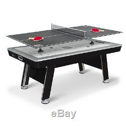 80 In Air Powered Hover Hockey Table Tennis Top Sports Game Indoor Activity Play