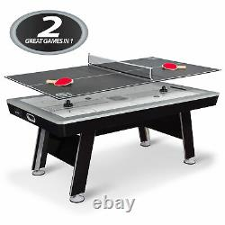 80 NHL Defender Dual Air Hockey Table and Table Tennis Top