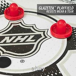 84 inch Air Powered Hover Hockey Table Indoor Game with 2 Pucks Triple Deke