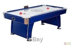 89 Premium Air Hockey Game Table with Accessories and LED Digital Scoreboard