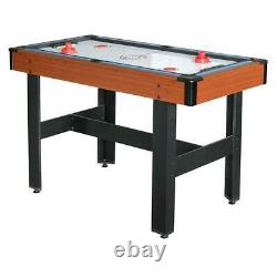 AIR HOCKEY POOL BILLIARD TABLE TENNIS GAME TABLE 48 3-in-1 Accessories Included