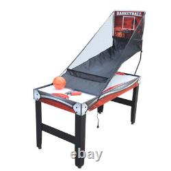 AIR HOCKEY TABLE TENNIS BASKETBALL GAME TABLE 52 3-in-1 Accessories Included