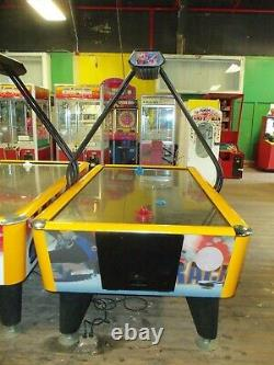AIR HOCKEY Table Fast Track by ICE Arcade Quality with Stainless Steel top