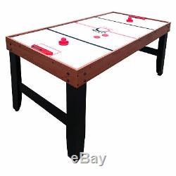 Accelerator 4-in-1 Multi-Game Table with Basketball, Air Hockey, Table Tennis