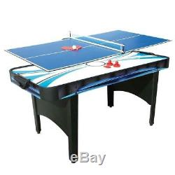 Air HOCKEY Or Tennis Table 2 In 1 ELECTRONIC Scorer High Gloss Playing SURFACE