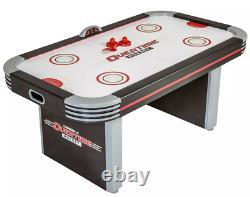 Air Hockey 6Ft Table Electronic Scoring LEDlight Triumph Lumen-X Overtime Game