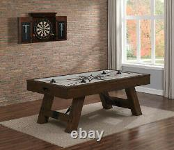 Air Hockey Game Table 7' Rustic The Game Room Store Nj Pick-up 07004