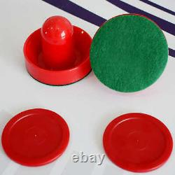 Air Hockey Game Table Face Off Electronic Scoring System Stable Play Dual Goal