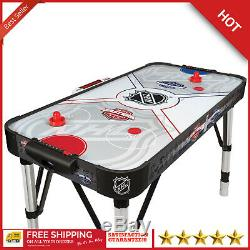 Air Hockey Table 54 In. Powered Store LED Score Adjustable Arcade Game Room New