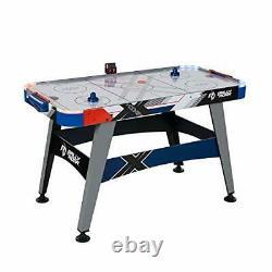 Air Hockey Table, 54, with LED Air Hockey Puck and Pushers Fun Ice Hockey