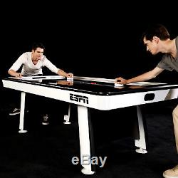 Air Hockey Table 84 ESPN Full Size Family Friends Game Kids Adult Patio Play