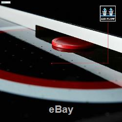 Air Hockey Table 84 LED Touch Screen Scorer Adult Kids Family Friends Game