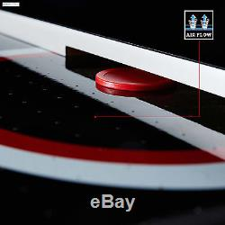 Air Hockey Table 84 LED Touch Screen Scorer Adult Kids Family Friends Game Play