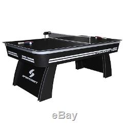Air Hockey Table For Kids 7 Paddles Puck Portable Outdoor Ping Pong Tennis Sets