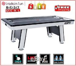 Air Hockey Table Full Size 84 Family Friends Game Kids Adult Patio Play ESPN