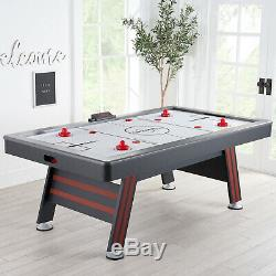 Air Hockey Table High End Blower Game Room LED Electronic Play Room Fun Family