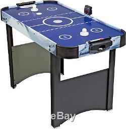 Air Hockey Table Mini Arcade Game Kids Play Pucks Accessories Electronic Scoring