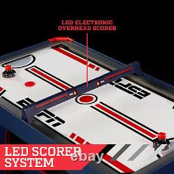 Air Hockey Table Overhead Electronic Scorer BlueRed 60 size Power Family Game