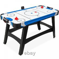 Air Hockey Table with 2 Pucks, 2 Paddles, LED Score Board 58in Kids Adults Gift
