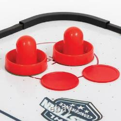 Air Powered Hockey Game NHL Fury Table Top 38in Includes Two Pucks & Two Pusher