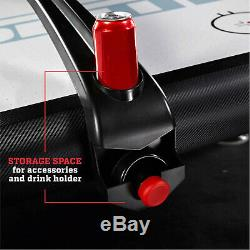 Air Powered Hockey Table ESPN Belham Collection 8 Foot Electronic Scorer & C