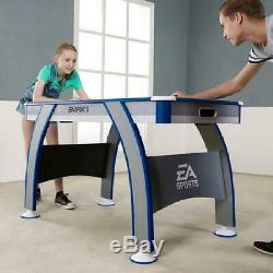 Air Powered Hockey Table with LED Electronic Scorer 54 Recreation Game Room Play