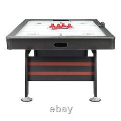 Airzone Air Hockey Table with High End Blower, 84, Red and Black FREE SHIPPING