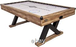 American Legend Kirkwood 84 Air Powered Hockey Table With Rustic Wood Finish