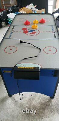Antique Rare Vintage Electric Air Hockey Indoor Game Sporting Good Collectible
