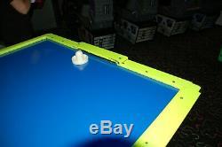 Arcade Air Hockey Table Hot Flash Blacklight Version