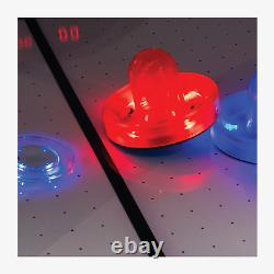 Atomic 7.5 ft Top Shelf LED Air Hockey Table with FREE Shipping