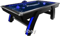 Atomic 90 Or 7.5 Ft Led Light Up Arcade Air Powered Hockey Tables